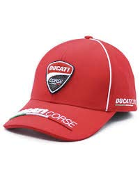Moto Rider Shop Gorra Ducati Corse ((Racing Wear)) (Roja)
