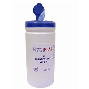 Toallitas desinfectantes de superficies Hygiplas CC197