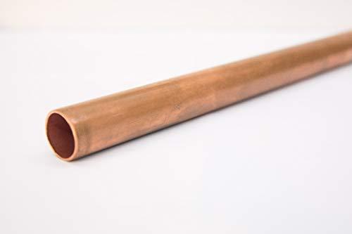 Kupfer rohr rund Stange - Stab Cu 15 x 1mm Wand = 13mm innen Ral Wasser Öl Gas 0.33m = 33cm = 330mm