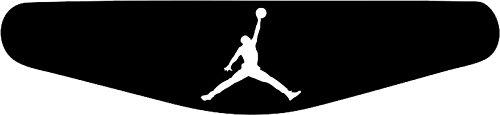 Play Station PS4 Lightbar Sticker Aufkleber Jordan Basketball (schwarz) Jordan Aufkleber