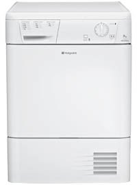 Condenser Tumble Dryer Polar White (TCM570P_WH)