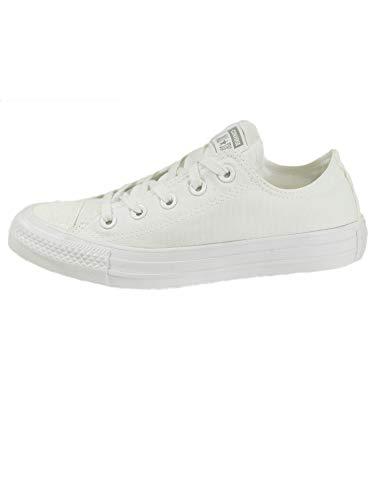 Converse Damen Chuck Taylor All Stars Sneaker Weiß White/Silver 000, 41 EU (Sneakers Für Converse)