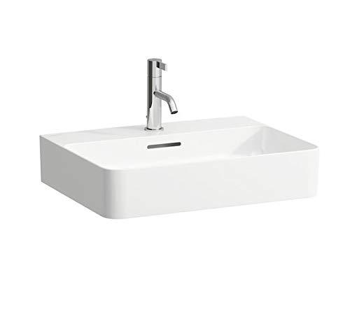 Laufen VAL Aufsatzwaschtisch, 1 Hahnloch, mit Überlauf, US geschl. 550x420, weiß, Farbe: Weiß mit LCC