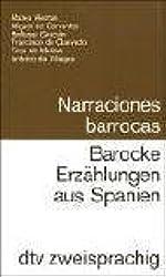 Narraciones barrocas /Barocke Erzählungen aus Spanien: Span. /Dt.