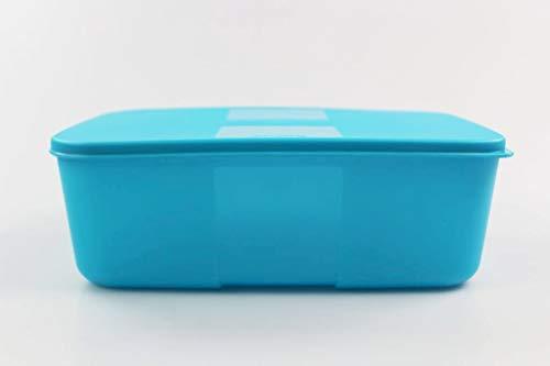 Tupperware Kühlschrank System 1,5 L dunkeltürkis Frische-System Dose Behälter