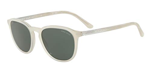 Armani Damen 0AR8104 562171 52 Sonnenbrille, Milk/Green,