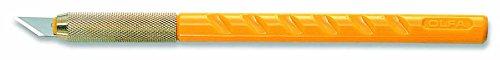 Olfa Cutter OLFA AK-1, Plastique, noir et jaune, 14 x 0,6 x 0,6 cm