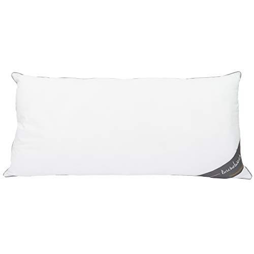 Traumschloss Kopfkissen Kuschelweich Faserkissen, Soft-Feinbatist aus 100% Baumwolle, Größe:40x80