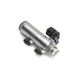 Selbstklebende Ausgabe Ltd Edelstahl Spray Ventil 0.07 cm rund