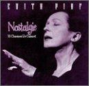 Songtexte von Édith Piaf - Nostalgie