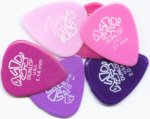 Dunlop - 6 picks Jim, colori assortiti