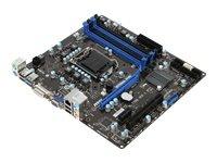 MSI B75MA-P45 Mainboard Sockel 1155 (Intel B75, 4x DDR3 Speicher, micro-ATX)