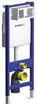 Schwab WC-Element Duplo XS mit Befestigung und Betätigungsplatte
