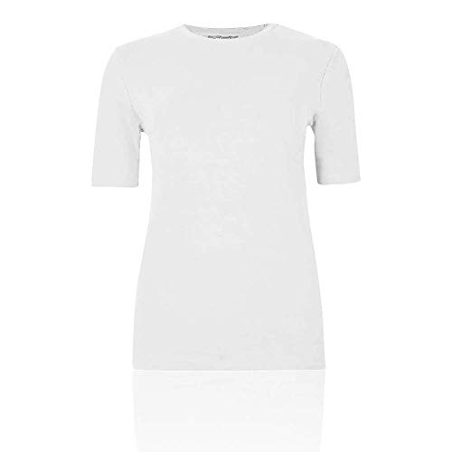 Blanco Camiseta Spencer Marksamp; Ex Para 42 Mujer Y76gvbfIy