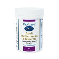 Biocare Adult Multivitamins & Minerals 30 Vegicaps by BioCare
