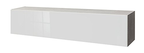 Composad, 80241830657, Pensile, Bianco, 30 x 164.8 x 35 cm