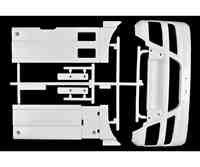 TAMIYA 319005974 - H-Teile Stoßstange/Seitenverkleidung MAN TGX 56325, Modellbauzubehör