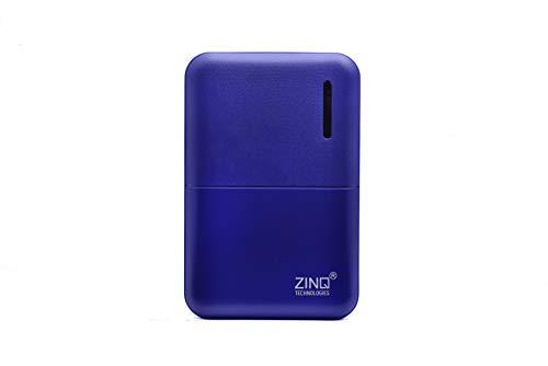 Zinq Technologies Z5KP 5000mAH Lithium Polymer Power Bank (Blue)