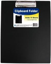 Bulk Buy: C-Line Clipboard Folder Black by C-Line