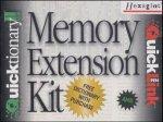 Memory Extension Kit, 1 CD-ROM m. Memory Extension-Karte, Memory Extension-Karten-Austauscher u. seriellem Schnittstelle Für Qicktionary II und QuickLink. Auf CD: 23 Wörterbücher, Bedienungshandbuch i. Deutsch und Französisch, Demo-Videos u. Character Eyes Software Video-extension-kit