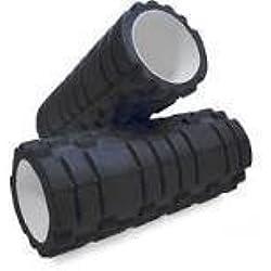 TNP Accessories - Rodillo de espuma para masajes y ejercicio, varios colores negro negro