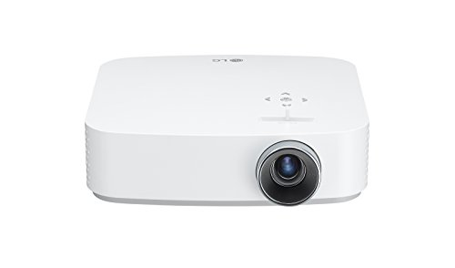 LG Beamer PF50KS bis 254 cm (100 Zoll) CineBeam Full HD LED Projektor (600 Lumen, USB Type-C, webOS), weiß