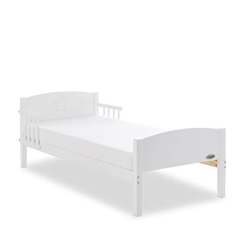 Obaby Star Toddler Bed - White Best Price and Cheapest