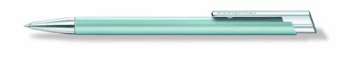 Staedtler Elance 421 25 – Bolígrafo de punta rodante con clip metálico, color azul