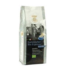 GEPA Italienischer Bio Espresso – koffeinfrei – gemahlen 1 Karton (6 x 250 g) Fair Trade Kaffee