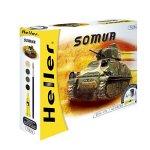 Heller - 49975 - Maqueta - Somua - 1/72