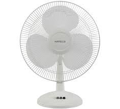 Havells Table Fan Swing LX 400mm White