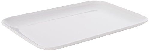 Dalebrook L288rechteckig tray-high glänzendem Melamin weiß, 16cm x 24cm Catering-tray