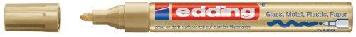 Edding 4-751-9-053 751 Glanz-Lack-Marker Rundspitze - Kreatives gestalten von fast allen...