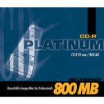 BestMedia CD-R 800MB Platinum CD-Rohlinge 90 Minuten 52x speed Jewelcase