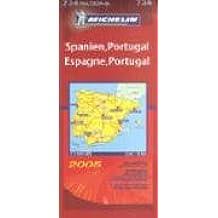 Michelin Karten, Bl.734 : Spanien, Portugal; Espagne, Portugal; Spagna, Portogallo; Spain, Portugal