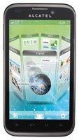 Alcatel OT-995 Smartphone (10,9 cm (4,3 Zoll) Touchscreen, 5 Megapixel Kamera, Android 2.3)