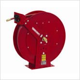 0.75 x 50', 250 psi, Heavy Industrial Air/Water Reel with Hose by Reelcraft -
