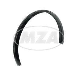 Schutzblech 20 Zoll - z.B. für Mopedanhänger - schwarz, ohne Lochungen - Länge ca. 1060 mm
