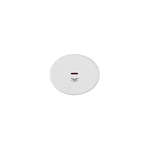 Niessen tacto - Tecla pulsador con visor simbolo luz tacto blanco