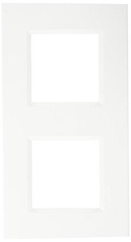 bticino 448148022placa doble Horizontal
