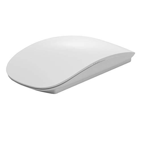 YUNCHAO Computer-Gadgets TM-823 2,4 G 1200 DPI Drahtlose optische Touch-Scroll-Maus for Mac Desktop-Laptop (Schwarz) (Farbe : Weiß) -
