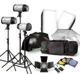 Strobe Studio Flash Light Kit 900W - Pho...