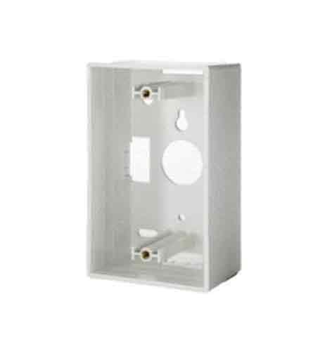 Legrand - on-q wp3409wh Single Gang Surface Mount Box, weiß Gang Surface Mount Box