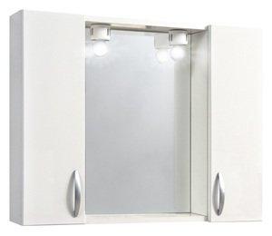 Kappa specchio da bagno mod.960 2 ante bianco