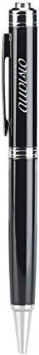 auvisio Abhörgerät: Digitaler Voice-Recorder-Kugelschreiber, VOX-Funktion, 16 GB, 180 Std. (Spionage Mikrofon)