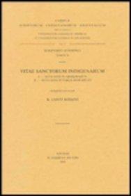 Vitae Sanctorum Indigenarum, I. ACTA S. Abakerazun. II.ACTA Takla Hawaryat. Aeth. 26. = Aeth. II, 24: (Aeth. II, 24), V. (Corpus Scriptorum Christianorum Orientalium) par K Conti Rossini