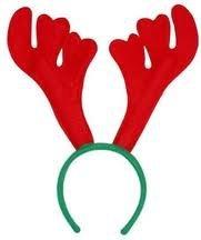 Weihnachten Rentier-Geweih