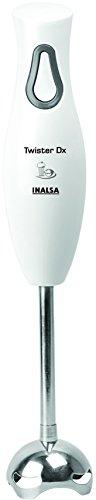 Inalsa Twister Dx 250-Watt Hand Blender (White/Grey)