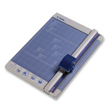 CARL Herstellung 12200Rotary Trimmer 30,5cm 10Fotopapier Gap. 10-1/10,2cm X12X3/10,2cm GY
