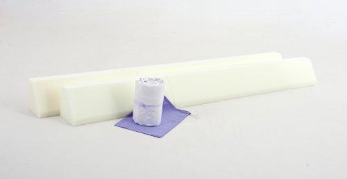 The British Bed Bumper Bundle-Foam & Sensible Baby Child [2 x 150 cm (paracolpi in policotone, Mega Extra profonda Lenzuolo]